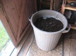 Compost, molasses and water, plus an aquarium bubbler, make a natural pesticide and fertilizer.