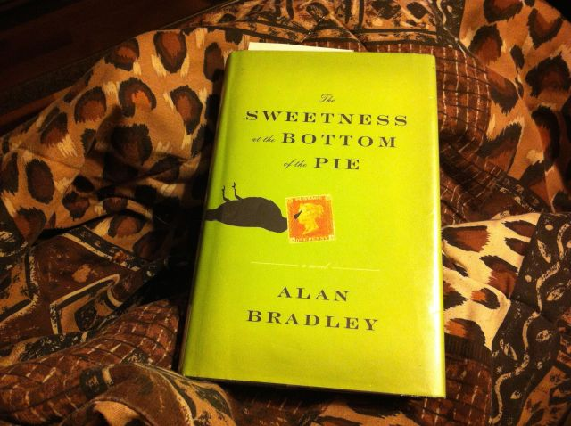 """The Sweetness at the Bottom of the Pie"" by Alan Bradley. Book report by Leah Noble."